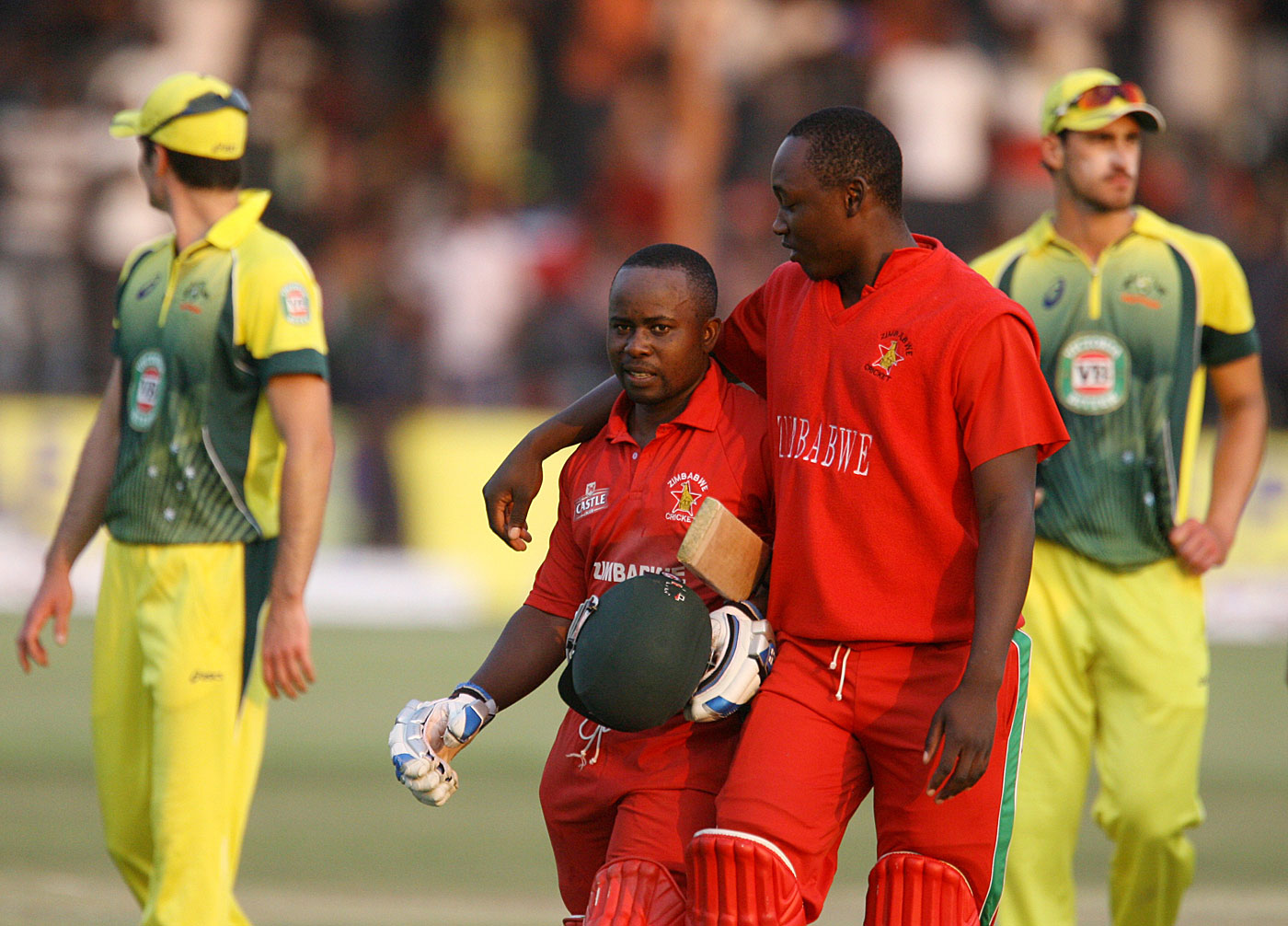 Utseya says that players have taken to forming groups within the Zimbabwe team