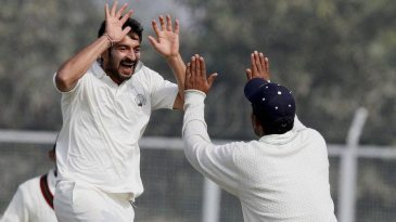Mohit Sharma took five wickets in Haryana's win