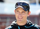 New Zealand bowling coach Shane Bond at a training session, Wellington, March 12, 2013