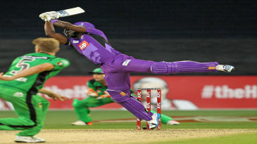 Darren Sammy smacked an unbeaten 38 off 12 balls