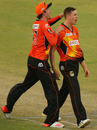 Jason Behrendorff took his best T20 figures of 4 for 22, Perth Scorchers v Adelaide Strikers, Big Bash League 2014-15, Perth, December 22, 2014