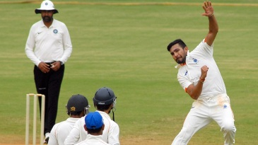 Ankit Sharma claimed a maiden first-class five-for