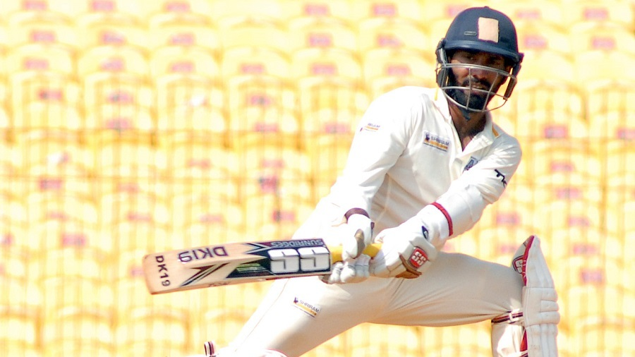 Dinesh Karthik struck a rapid century while following-on
