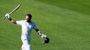 Brendon McCullum made 195 off 134 balls