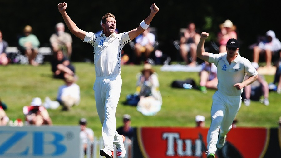 Tim Southee's short-ball tactic worked well against the tail