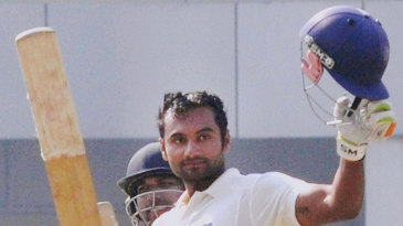 Paras Dogra made an unbeaten 230, his highest first-class score