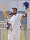 Paras Dogra made an unbeaten 230, his highest first-class score, Assam v Himachal Pradesh, Ranji Trophy, Group C, Guwahati, 2nd day, December 29, 2014