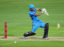New bat, please: Jono Dean's power proved too much for his piece of willow, Adelaide Strikers v Hobart Hurricanes, Big Bash League, Adelaide, December 31, 2014