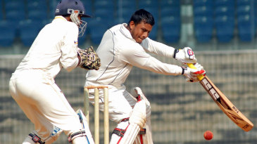 Arnab Nandi scored a key fifty for Railways