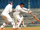 Arnab Nandi scored a key fifty for Railways, Tamil Nadu v Railways, Ranji Trophy, Group A, Chennai, 4th day, December 31, 2014