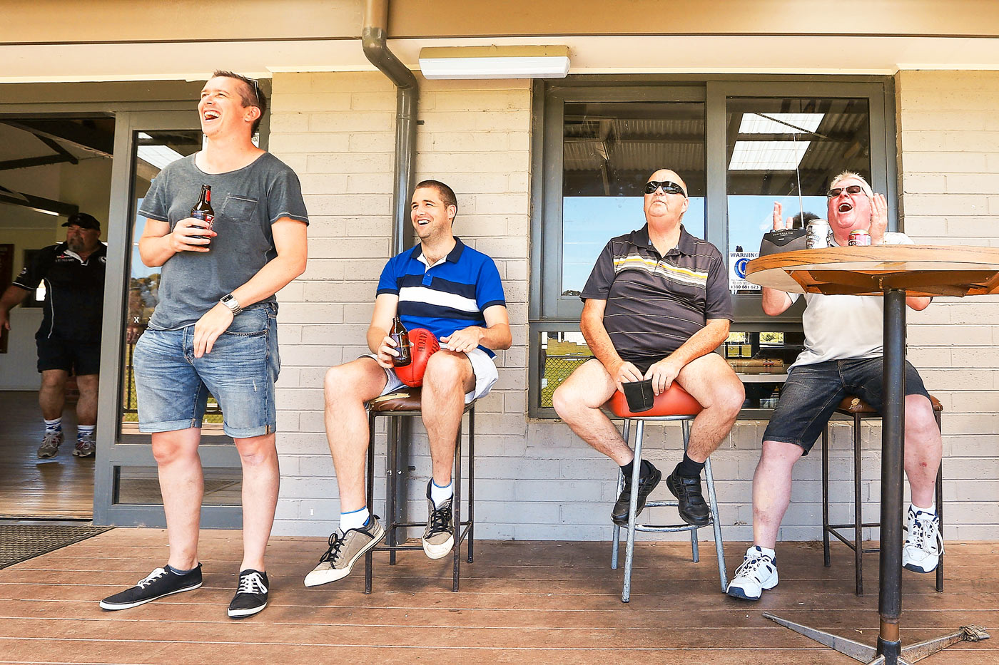 Pale, male and stale? Fans enjoy a grade cricket match in Melbourne