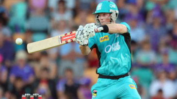 Jimmy Peirson scored 57 off 35 balls for Heat