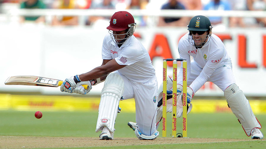 Leon Johnson went past fifty in 73 balls