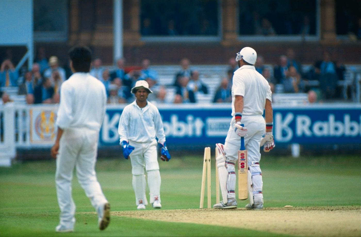 Kiran More's spill made Graham Gooch richer by 297 runs