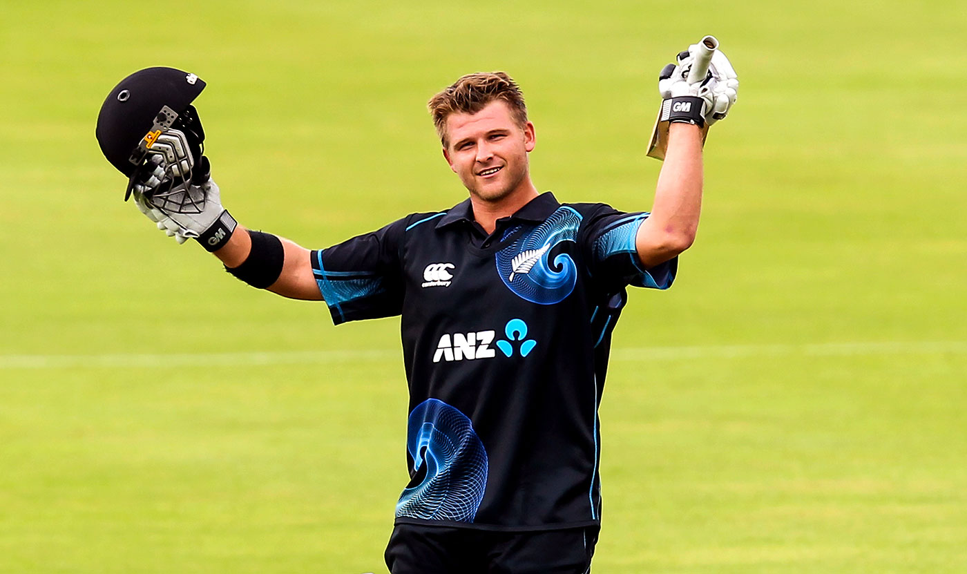 Corey Anderson savours setting the record for the fastest ODI ton, New Zealand v West Indies, 3rd ODI, Queenstown, January 1, 2014