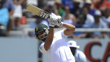 Alviro Petersen worked hard for his 42 before being run out