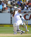 Alviro Petersen worked hard for his 42 before being run out, South Africa v West Indies, 3rd Test, Cape Town, 2nd day, January 3, 2015