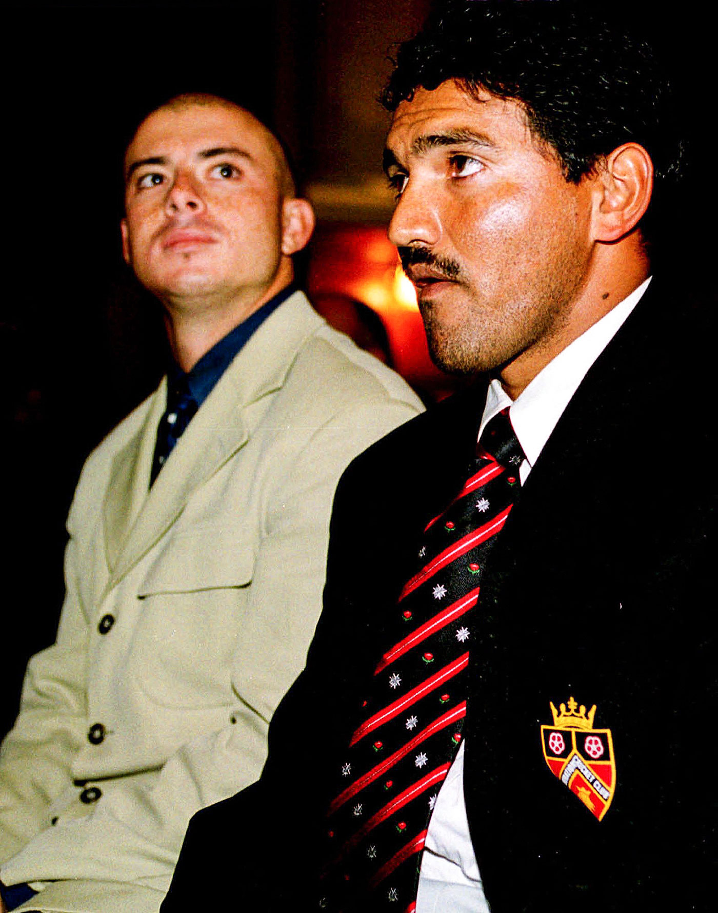 Different strokes: the outcomes were not the same for Herschelle Gibbs and Williams, seen here at match-fixing hearings in June 2000