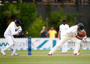 Ross Taylor was beaten in flight and was bowled, New Zealand v Sri Lanka, 2nd Test, Wellington, 3rd day, January 5, 2015