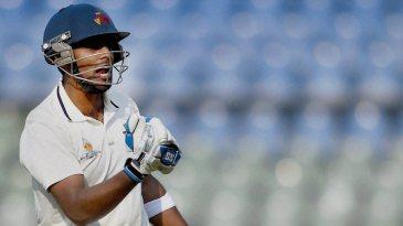 Suryakumar Yadav is pumped after scoring a hundred
