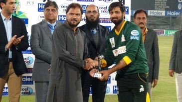 Ali Waqas was named Man of the Match for his 99