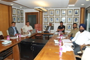The Indian selection committee met to pick the squad for the World Cup, Mumbai, January 6, 2015