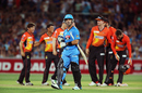 Ryan ten Doeschate took eight balls to score four, Adelaide Strikers v Perth Scorchers, Big Bash League 2014-15, Adelaide, January 6, 2015