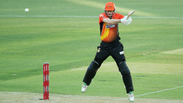 Adam Voges goes on his toes