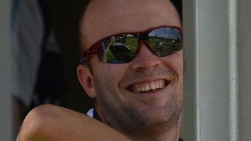 Jonathan Trott enjoyed his team's first-innings batting efforts