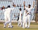 Pankaj Singh troubled the Punjab middle order, Rajasthan v Punjab, Ranji Trophy 2014-15, Group B, 2nd day, Jaipur, January 6, 2015