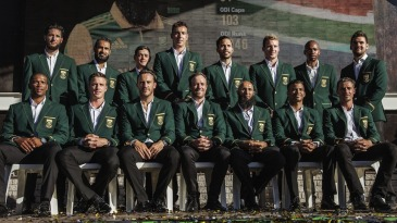 South Africa's squad for the 2015 World Cup