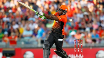 Michael Carberry slapped an unbeaten 37-ball 77