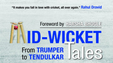 Cover image of S Giridhar and VJ Raghunath's <i>Mid-wicket Tales: From Trumper to Tendulkar</i>
