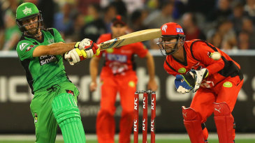 Glenn Maxwell scored 66 off 44, his first fifty in 16 innings across all formats