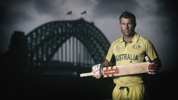 David Warner in World Cup colours