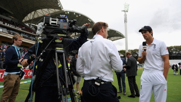 Ian Ward speaks to Alastair Cook