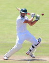 Theunis de Bruyn went through to a double century, South Africa A v England Lions, 1st unofficial Test, Paarl, 2nd day, January 12, 2015