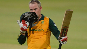Morne van Wyk made his maiden international century