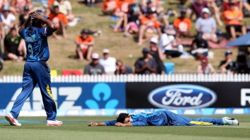 Tillakaratne Dilshan might hope the ground opens up under him after dropping a catch