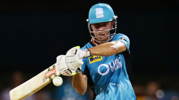 Chris Lynn hit 12 fours and three sixes in his 81