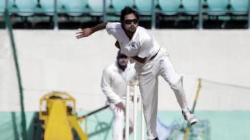 Jharkhand's Shahbaz Nadeem claimed 4 for 77