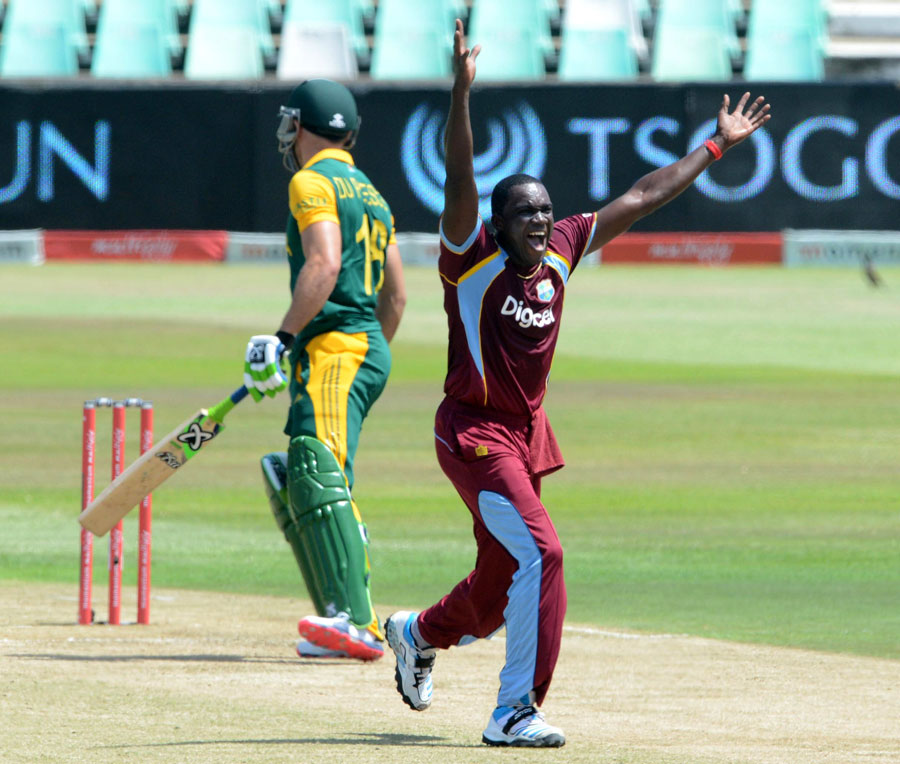 West Indies vs South Africa 2nd ODI