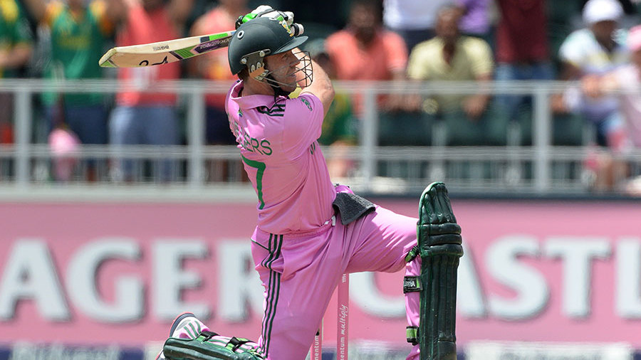 AB de Villiers blasted away the record for the fastest ODI century, getting there in only 31 balls