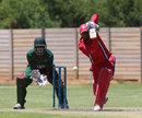 Navneet Dhaliwal scored 93 to power Canada to a competitive total, Canada v Kenya, ICC World Cricket League Division Two, Windhoek, January 18, 2015