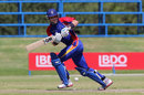 Gerhard Erasmus was named Man of the Match for his 83-ball 91, Namibia v Netherlands, ICC WCL Division Two, Windhoek, January 20, 2015