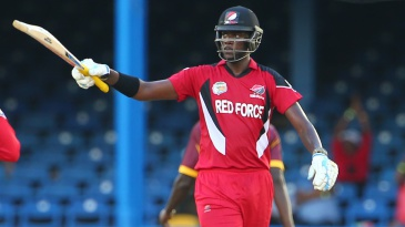 Kevon Cooper scored his maiden fifty