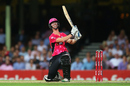 Jordan Silk smashed five sixes, Sydney Sixers v Sydney Thunder, Big Bash League 2014-15, Sydney, January 22, 2015