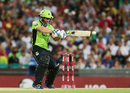 Aiden Blizzard scored an unbeaten fifty, Sydney Sixers v Sydney Thunder, Big Bash League 2014-15, Sydney, January 22, 2015