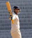 Ishank Jaggi scored his second double-hundred of the season, Jharkhand v Hyderabad, Ranji Trophy 2014-15, Group C, 2nd day, Ranchi, January 22, 2015