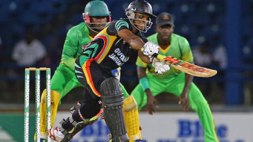 Shivnarine Chanderpaul's unbeaten 98 steered Guyana into the final